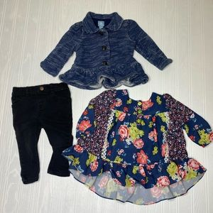 Bundle of 12 month girl winter clothes